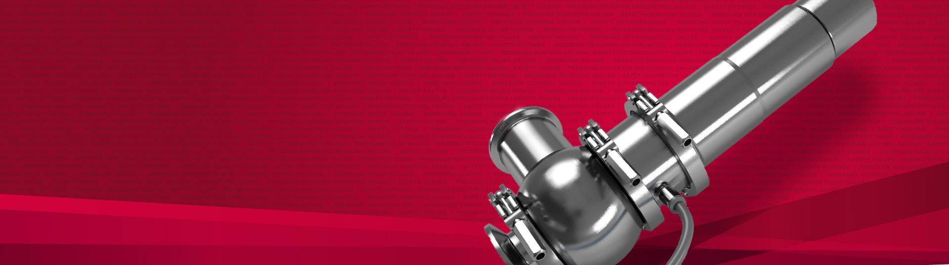 Válvulas de segurança e acessórios de alto desempenho